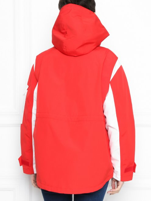 Куртка с капюшоном на молнии - МодельВерхНиз1