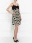 Платье без рукавов с узором Guess by Marciano  –  Модель Общий вид