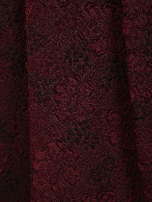Юбка-макси из фактурного шелка - Деталь1