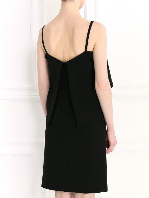 Платье-мини на бретелях - Модель Верх-Низ1