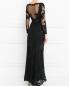 Платье из кружева с длинным рукавом OLVI`S  –  Модель Верх-Низ1