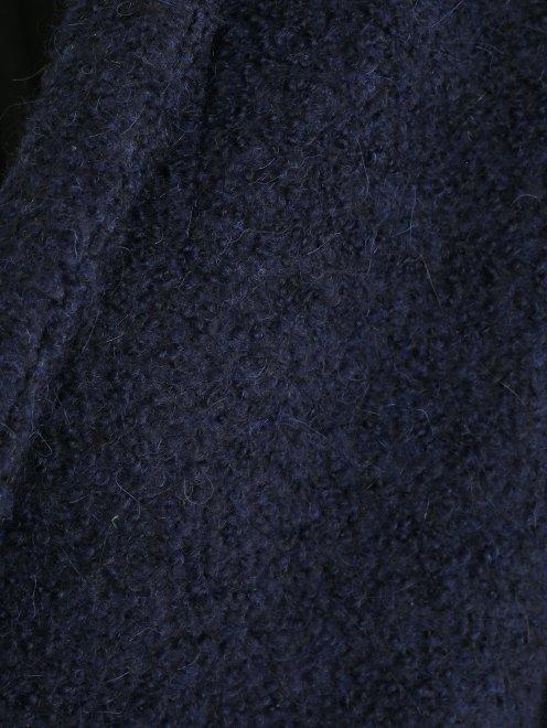 Пальто свободного кроя с накладными карманами - Деталь2