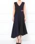 Платье-макси асимметричного кроя с кристаллами DKNY  –  Модель Верх-Низ