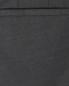 Брюки прямого кроя из шерсти Emporio Armani  –  Деталь
