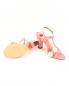 Босоножки из кожи на устойчивом каблуке Moschino Boutique  –  Обтравка4