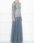 Платье-макси из кружева с декоративной аппликацией Antonio Marras  –  МодельВерхНиз