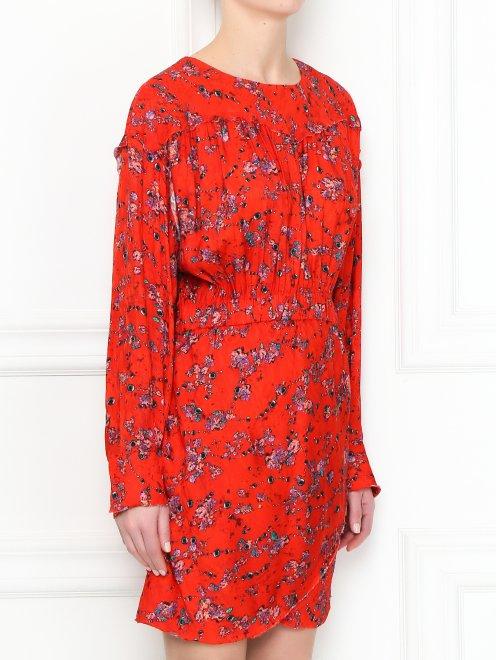 Платье свободного кроя с узором - МодельВерхНиз