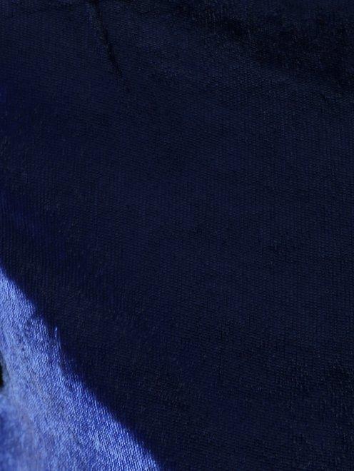 Платье-мини прямого кроя с короткими рукавами - Деталь1