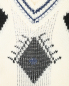 Джемпер из шерсти с узором и аппликацией Ermanno Scervino  –  Деталь