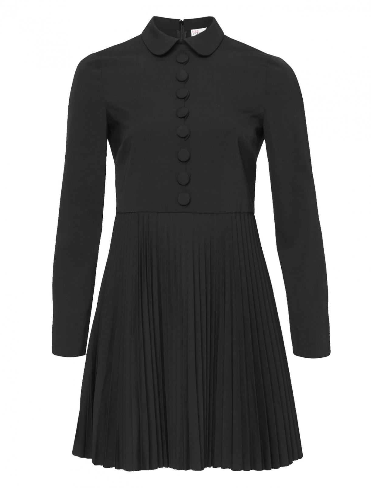 Платье-мини из смешанной шерсти Red Valentino  –  Общий вид