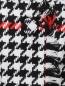 Юбка-мини с узором и накладными карманами MSGM  –  Деталь