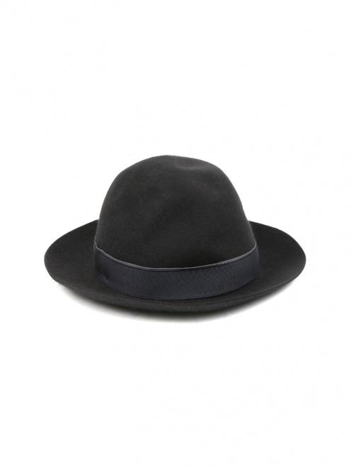 Шляпа из шерсти  - Обтравка2