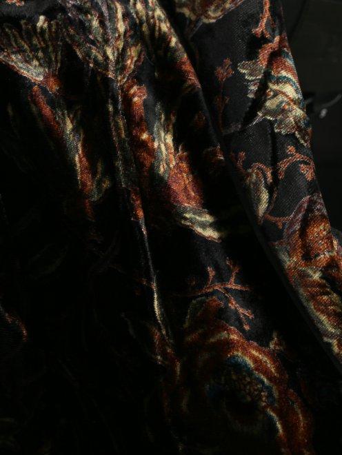 Платье с запахом, из вискозы, с цветочным узором - Деталь