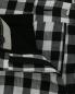 """Укороченные брюки из льна с узором """"клетка"""" Weekend Max Mara  –  Деталь"""