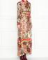 Платье-макси из смешанного шелка с узором Etro  –  МодельВерхНиз