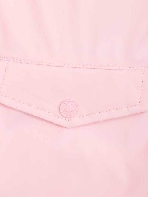 Куртка ветрозащитная с капюшоном - Деталь