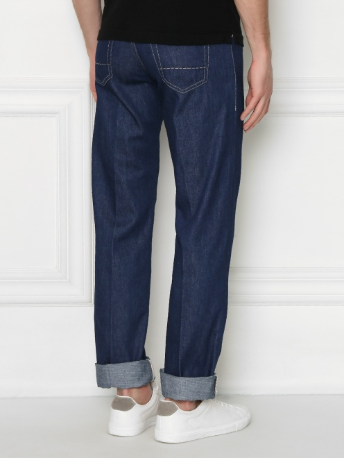 джинсы прямого кроя - МодельВерхНиз1