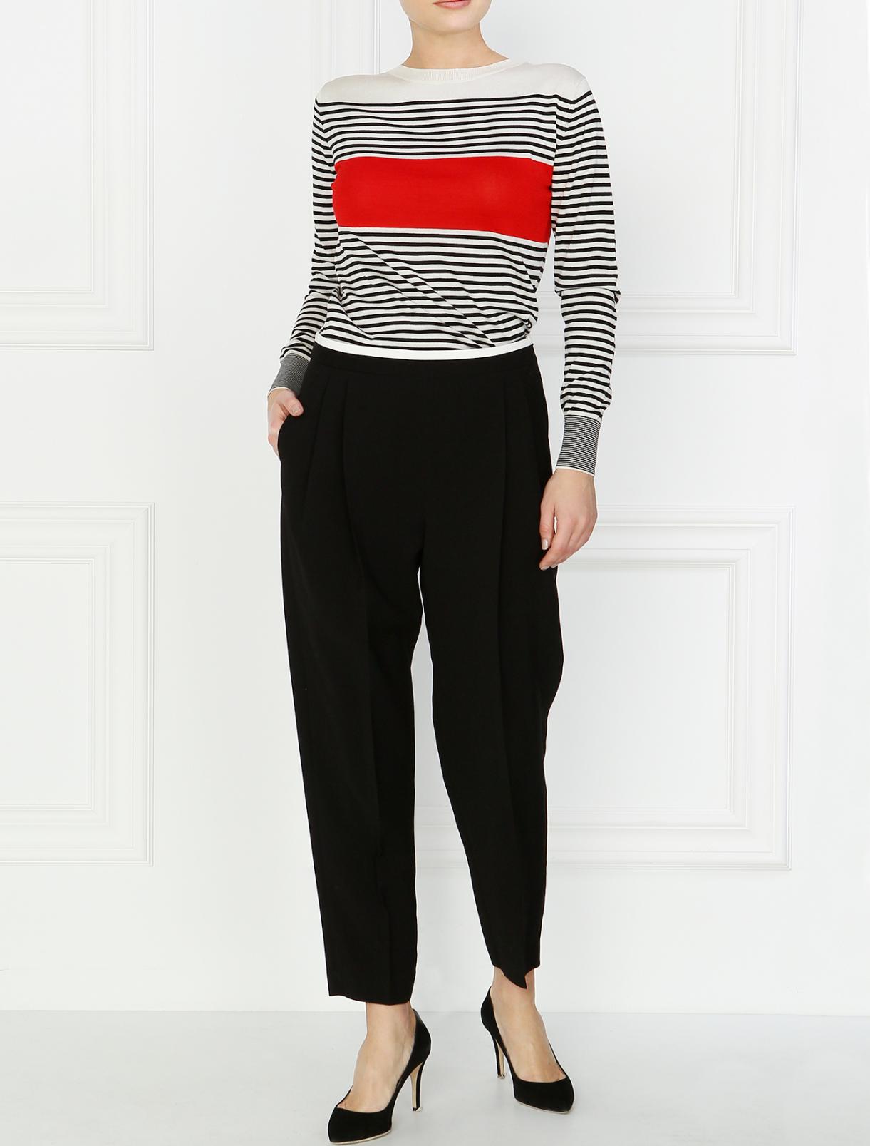 Классические укороченные брюки Paul Smith  –  Модель Общий вид