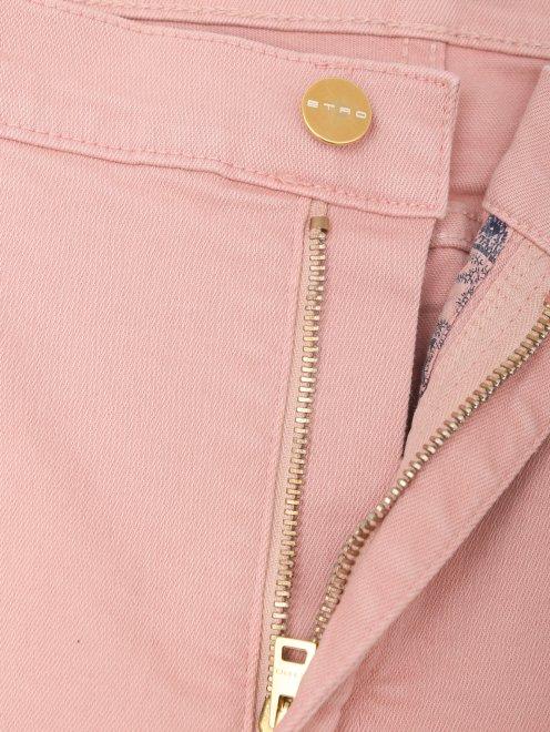 Укороченные джинсы из хлопка - Деталь1