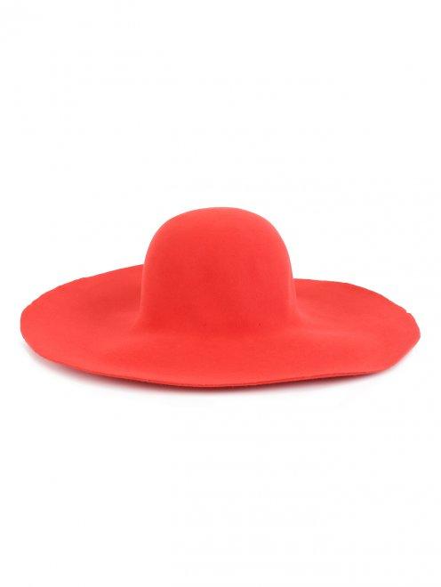 Шляпа из фетра с широкими полями - Обтравка1