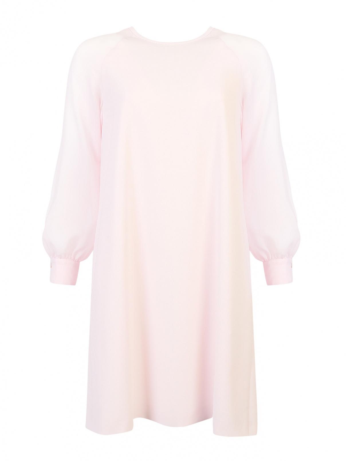 Платье А-силуэта, с прозрачными рукавами Max Mara  –  Общий вид