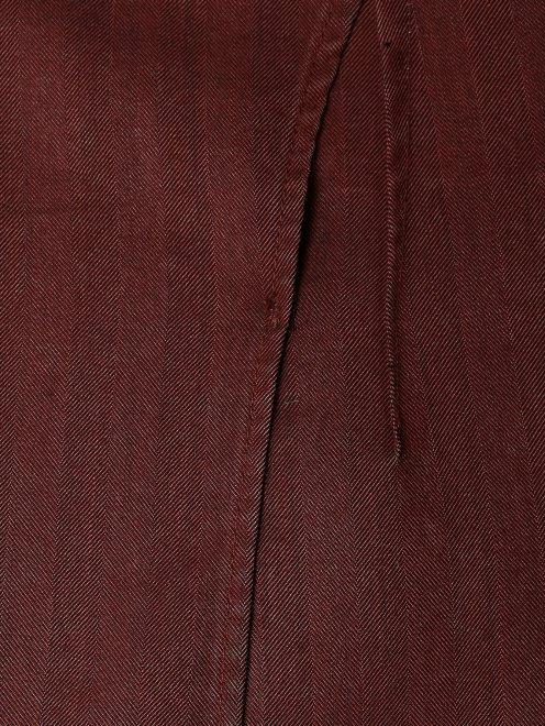 Пиджак из хлопка - Деталь