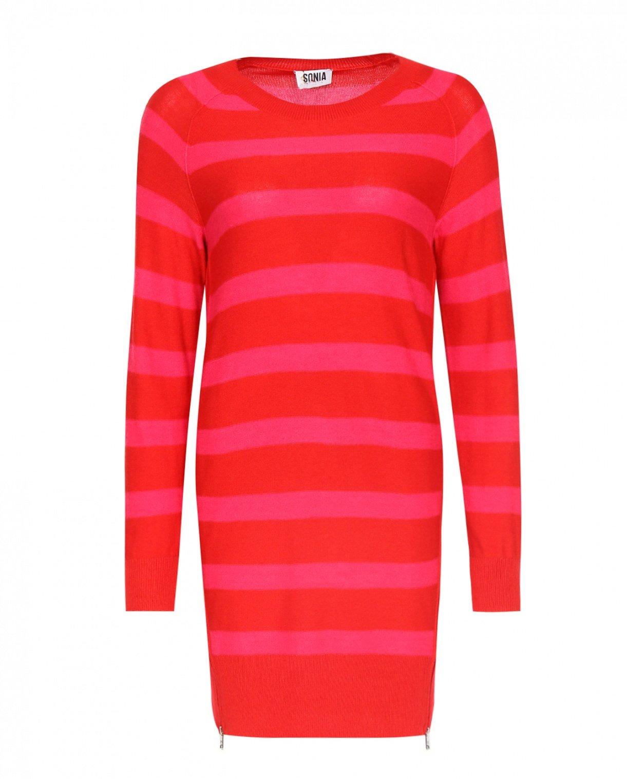 Платье из смешанной шерсти и декоративными молниями Sonia By Sonia Rykiel  –  Общий вид