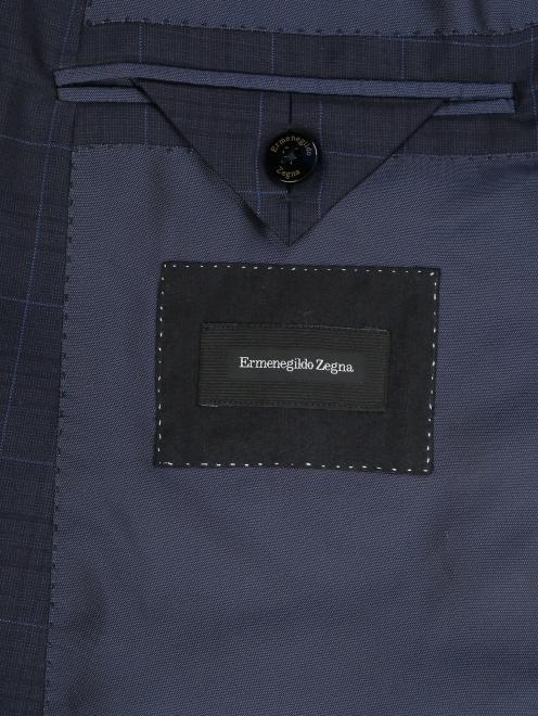 Пиджак из шерсти с узором - Деталь2