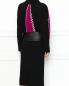 Платье-миди из шерсти с декоративной отделкой Marc Jacobs  –  МодельВерхНиз1